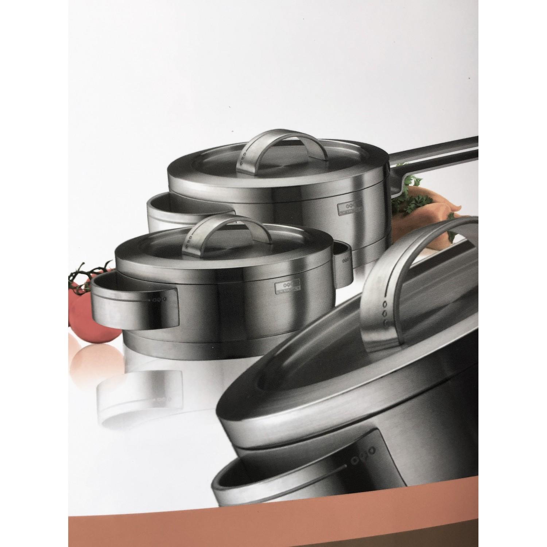 Batteria inox acciaio cucina pentole set cuorere - Batteria da cucina lagostina prezzi ...