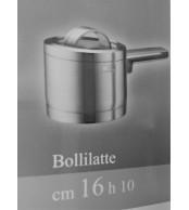 Bollilatte acciaio inox18/10