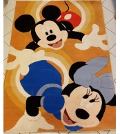 Mickey and Minnie Tappeto per Bambini