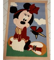 Minnie & Butterfly Tappeto per Bambini